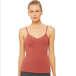 Alo Yoga Ally Fitted Tank - Size Small
